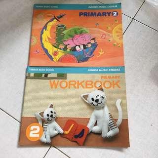 Yamaha JMC Primary 2 Textbook and Workbook.