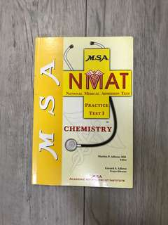 MSA NMAT REVIEWER (Chemistry)