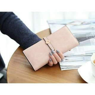 #892 Korean long wallet