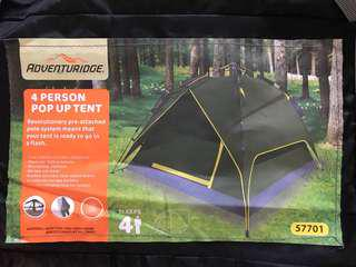 Tent for 4pax