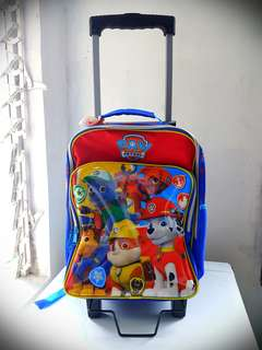 Paw Patrol Trolley / Backpack Bag
