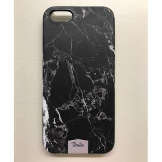 Marble Marbled Black Matte Phone Case iPhone 5 5S