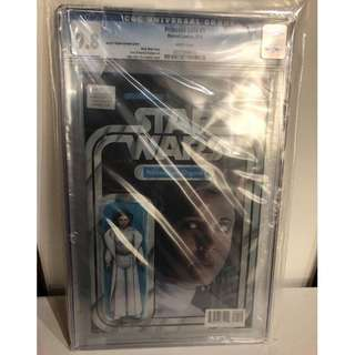 CGC 9.8 Star Wars Princess Leia #1 Princess Leia Action Figure Variant by John Tyler Christopher