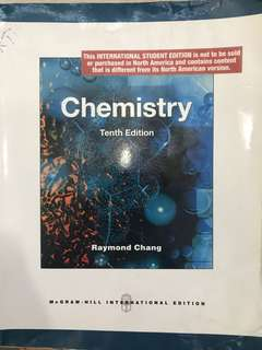 University Chemistry textbook Tenth Edition