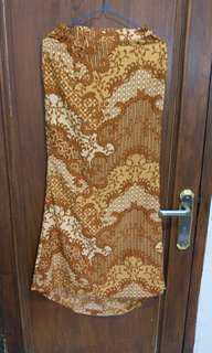 rok duyung batik