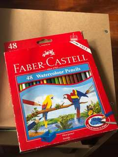 Faber Castell 48 Water Colour Pencils