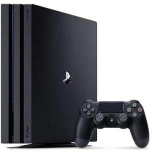 PS4 Pro 1TB Jet Black