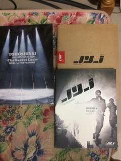 Photobook (JYJ the beginning) & (Tohoshinki secret code)