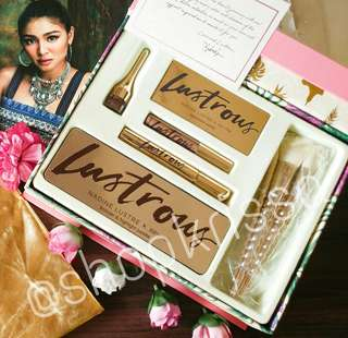 TAKE ALL 4 products of Lustrous by Nadine Lustre x BYS Cosmetics