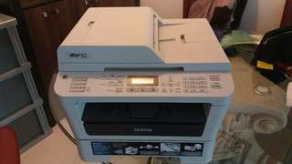 5 in 1 Scanner,  fax, copy, printer and PC fax