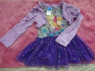 Frozen Dainty Purple Dress