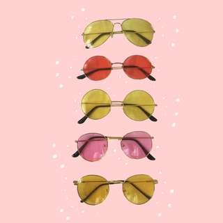 BUNDLE SALE: 5 SUNGLASSES FOR P280