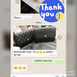 Thanks You For The Purchase & Trust 😘