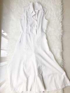 Jumpsuit putih korea
