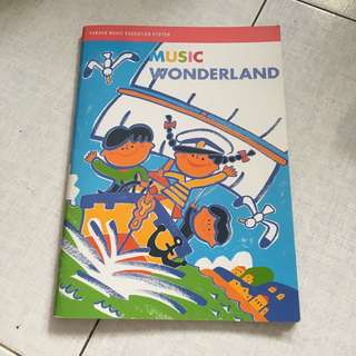 Yamaha Music Wonderland and Musical Toybox Books
