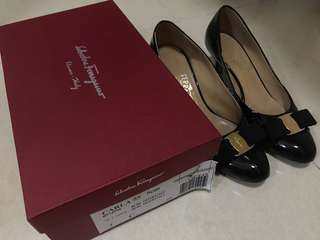 Salvatore Ferragamo 5cm heel shoes size 37C