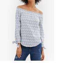 Esprit long sleeve woven blouse