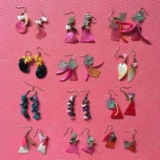 Shell Earrings • Buy 3 for P250