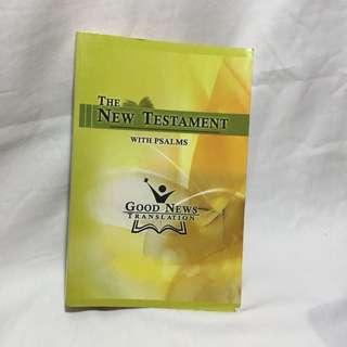The New Testaments with Psalms