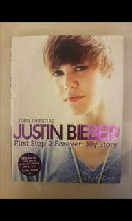 100% Official Justin Bieber First Step 2 Forever: My Story