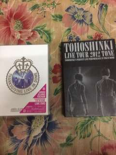 Tohoshinki live tour tone 2012 & JYJ Thanksgiving Live in Dome