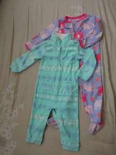 Sleepsuits / playsuits