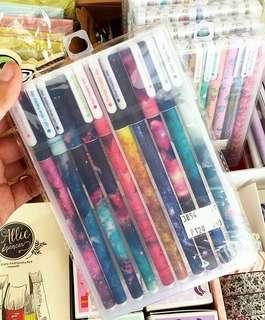 Galaxy Gel Pen Set
