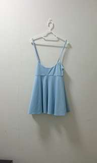 Kitschen Baby Blue Outer Overall