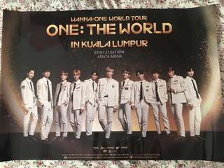 Wanna One World Tour Poster!!