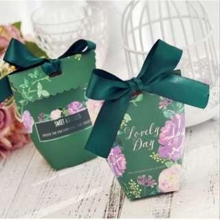 Ready Stocks in Sg! Wedding Gift Box Candy box Wedding Favour
