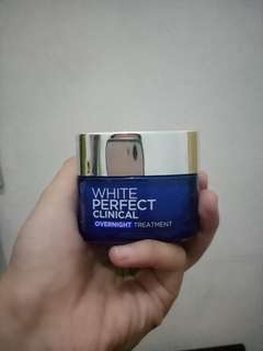 Loreal white perfect clinnical overnight treatment