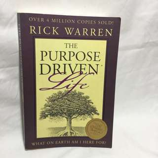 The Purpose Drive Life by Rick Warren