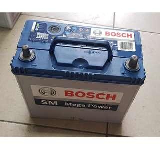 (二手中古電池) BOSCH 55B24L-免保養汽車電池 數值漂亮,品項優