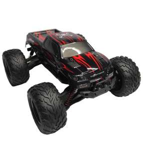 (184) ToyJoy Foxx S911 Full Proportional 2WD Brush High Speed Monster Truck with 2.4GHz Radio Remote Control Charger Included 1/12 Scale with Waterproof Electronics(Blue)