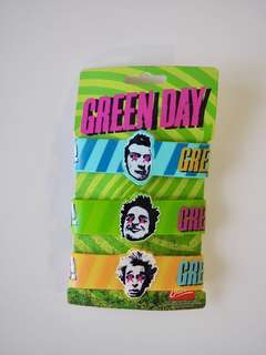 Green Day Wrist Bands