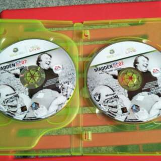 Xbox 360 Madden NFL 07