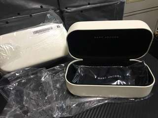 MARC JACOBS眼鏡盒連布連眼鏡袋