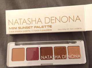 Natasha Denona Mini sunset Palette 迷你日落5色眼影盤 眾多美妝部落客推薦好用眼影