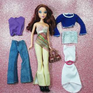 Barbie Myscene set