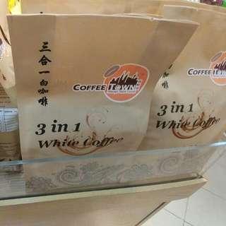 馬來西亞代購 三合一 白咖啡(咖啡城)