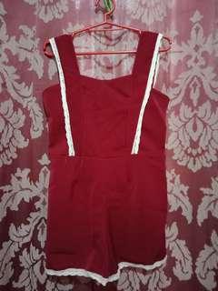 Red jumpshort