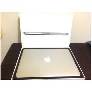 "AppleCARE保固2015 early MacBook Pro retina 13"" 2.7Gh/8G/256SD"