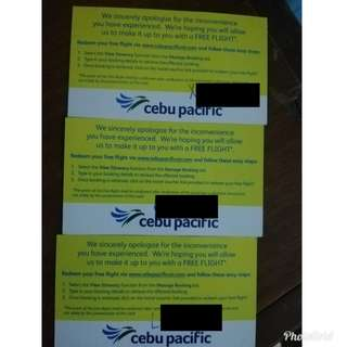 Cebu Pacific Voucher Roundtrip