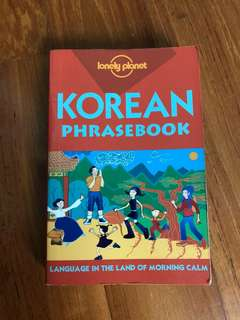 Korean language phrase book