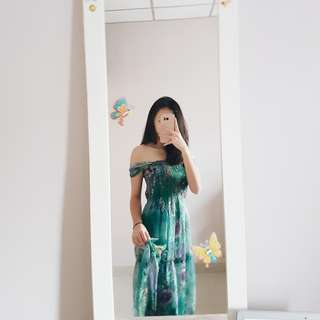 Summer Green Bali Dress
