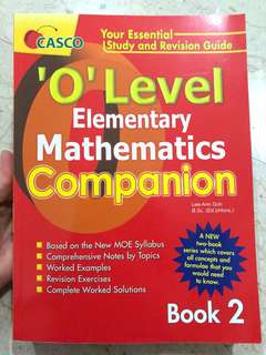 Maths practice olvl companion