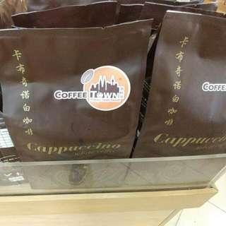 馬來西亞代購 卡布奇諾 白咖啡(咖啡城)