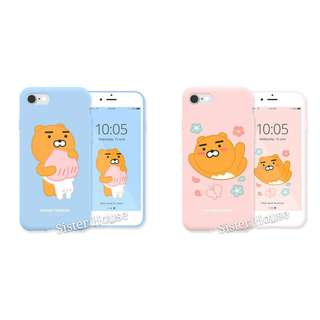 (包郵)🇰🇷Kakao Friends Ryan Soft Color Phone Case 軟手機殼