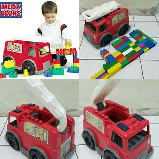 Mega block fire truck