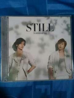 TOHOSHINKI - STILL Single CD+DVD